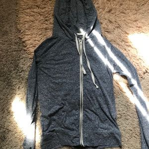 Simple zip up hoodie